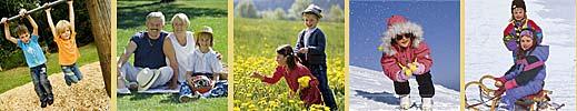 Urlaub mit der Familie im Bayrischen Wald Bayern, Dreiländerregion Bayr. Wald, Böhmerwald, Osterreich